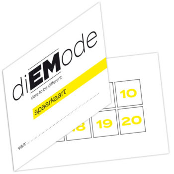 diEMode spaarkaart